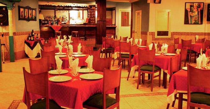 Restaurante hotel vedado